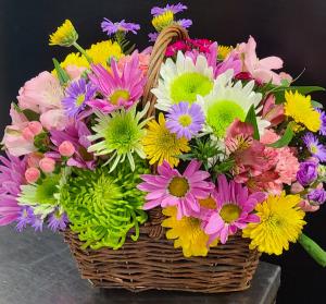 Happy Basket  in Summerville, SC   Olivia Rose Floral Design