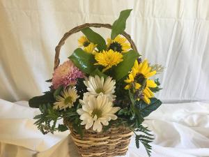 Happy Basket Basket in Norway, ME   Green Gardens Florist & Gift Shop