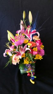 Happy Birthday Arrangement Arrangement