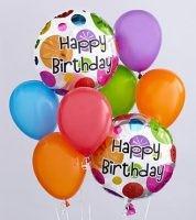 Happy Birthday Ballon Bouquet **STYLES MAY VARY**