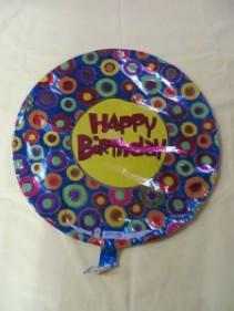 Happy Birthday Balloon 2 Mylar Balloon