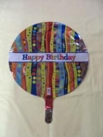 Happy Birthday Balloon 4  Mylar balloon