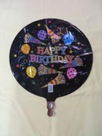 Happy Birthday Balloon 5 Mylar Balloon