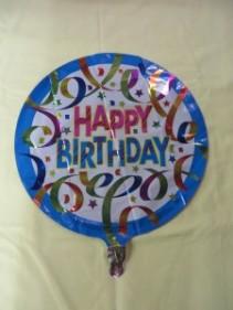 Happy Birthday Balloon 6 Mylar Balloon