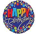 Happy Birthday Balloon balloon in Knoxville, TN | ALWAYS IN BLOOM LLC