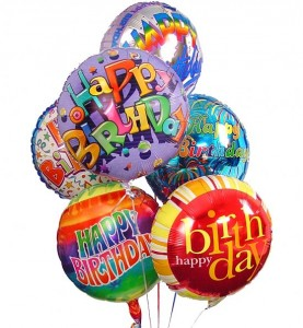 Happy Birthday Balloon Bouquet in New Port Richey, FL | FLOWERS TODAY FLORIST