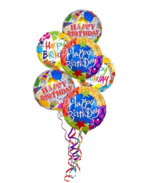 Happy Birthday Balloon Bouquet in Coral Springs, FL | DARBY'S FLORIST