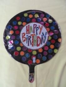 Happy Birthday Balloon Mylar Balloon