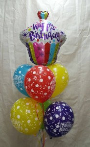 Happy Birthday Balloon Bouquet Balloons