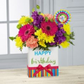Happy Birthday Arrangement in Spruce Grove, Alberta | TARAH'S GROWER DIRECT