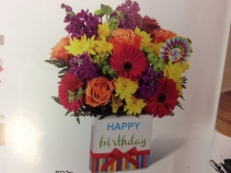 Happy Birthday Bouq. Birthday arrangement