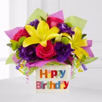 Happy Birthday Bouquet Birthday Flowers