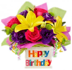 Happy Birthday Bouquet  Bouquet by FTD