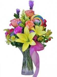 HAPPY BIRTHDAY BOUQUET of Flowers in Riverside, CA | Willow Branch Florist of Riverside