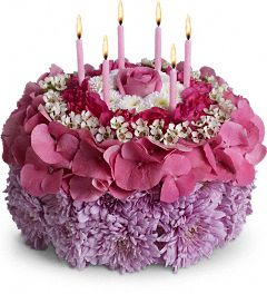 Happy Birthday cake to someone Special  in Vancouver, BC | ARIA FLORIST