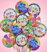 Happy Birthday Dozen Balloons