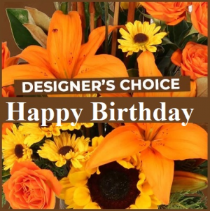 Happy Birthday  Fall Colors in Plainview, TX   Kan Del's Floral, Candles & Gifts