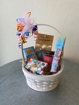 Happy Birthday! Gift Basket in La Grande, OR | FITZGERALD FLOWERS