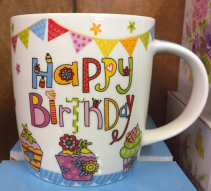 Happy Birthday in a Mug! Birthday Gift