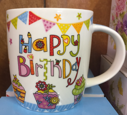 Happy Birthday In A Mug Gift