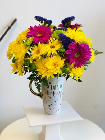 Happy birthday mug Birthday