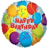 Happy Birthday Mylar Balloon Balloon