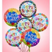 Happy Birthday Mylar Balloon Gift