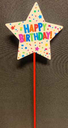 Happy Birthday pick