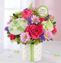 Happy Birthday Present Arrangement