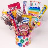 Happy Birthday Snack Basket