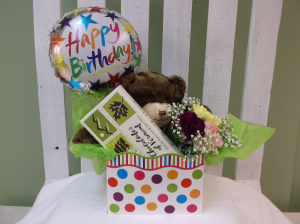 HAPPY BIRTHDAY TO YOU!!! GIFT PACKAGE in Springfield, VT | WOODBURY FLORIST