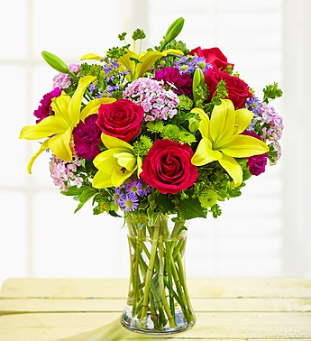 Happy Birthday Wishes Arrangement