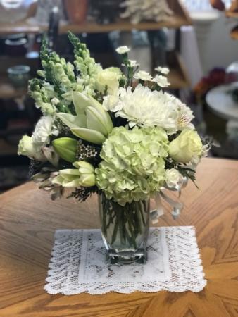 Pure Joy Bouquet Floral Vase Arrangement