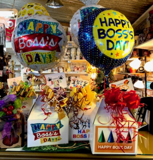 Happy Boss' Day Snack Attack Sweet and Salty Mix Bouquet in Plainview, TX | Kan Del's Floral, Candles & Gifts