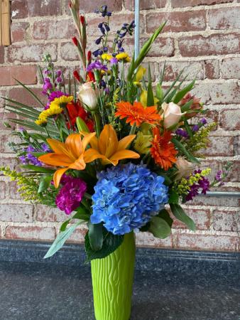 Happy Bosses day Bouquet  Vase