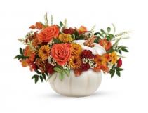 Sweet Pumpkin Fresh Floral