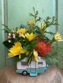Happy Camper Floral Arrangement
