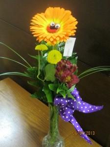 Happy Daisy Gerber Daisy Vase