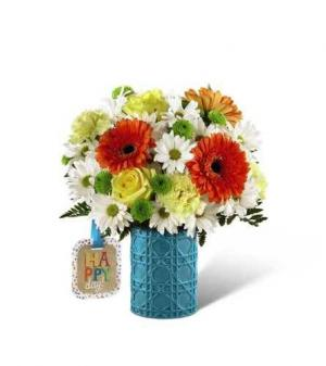 Happy Happy Day Bouquet  in Derby, CT   THE PETAL PUSHER FLORIST