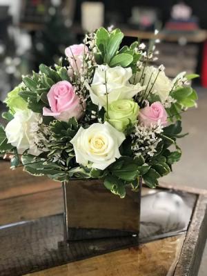 Brighten Her Day Flower Bouquet  in Jerusalem, OH | Malaga Garden Center