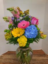 Happy Day Flower Arrangement