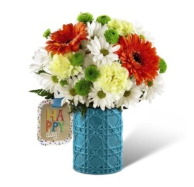Happy Day! Vased Arrangement in Georgetown, ON | FENDLEY FLORIST