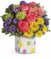 Happy Dots Bouquet H16E300B