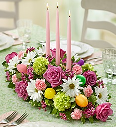 Happy Easter! Centerpiece  in Fair Lawn, NJ | Dietch's Florist