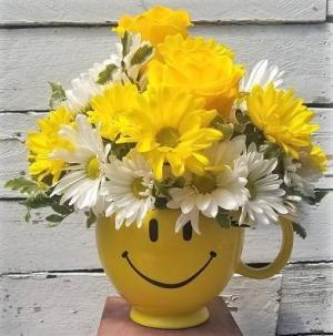 Happy Face Bouquet  in Largo, FL | Rose Garden Florist