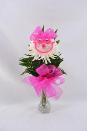 Happy Face Bud Vase