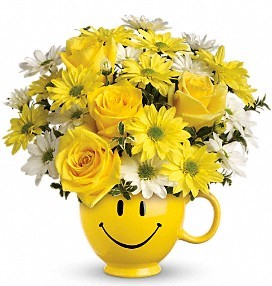 happy face mug everyday in Covington, GA | A Bouquet By Betty