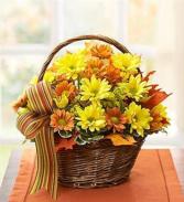 Happy Fall Basket