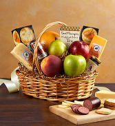 Happy Fall Fruit & Gourmet Basket