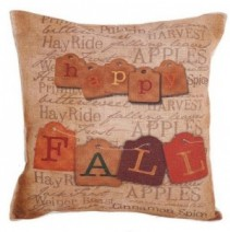 Happy Fall Pillow #10 18 x 18